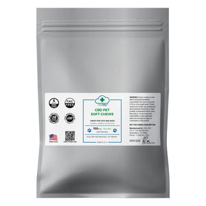 CBD Pet Chewy Treats 2.12oz/60g 30count -150mg Isolate