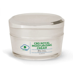 Royal CBD Moisturizing Cream 1oz/30ml – 20mg CBD Isolate