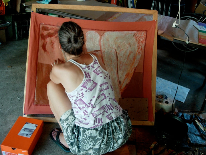 Journal Entry of an Artist Who Makes Batik Paintings