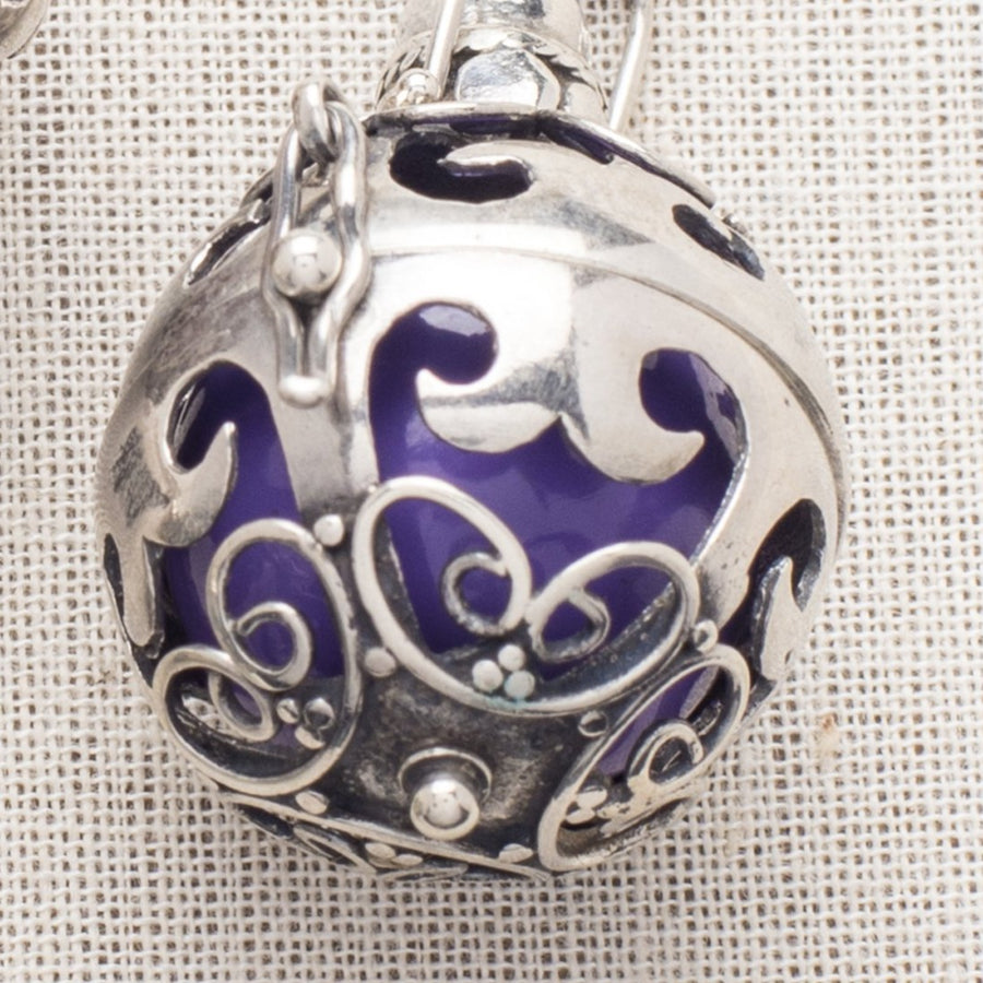 Magic Bali Bell inside a Sterling Locket