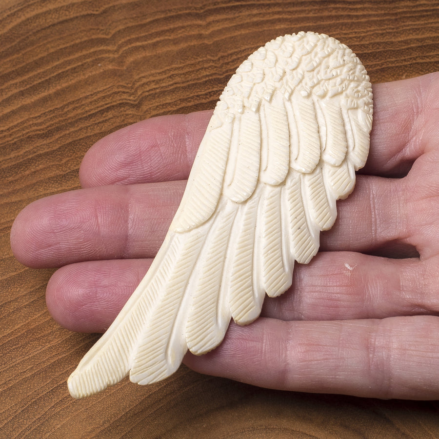 Bone Carving Eagles Wing