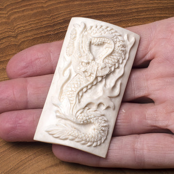 Dragon Bone Carving - Flat Relief