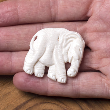 Bone Carving - Elephant
