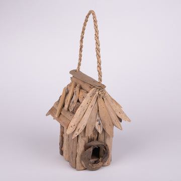 Birdhouse Crafted from Driftwood - Small