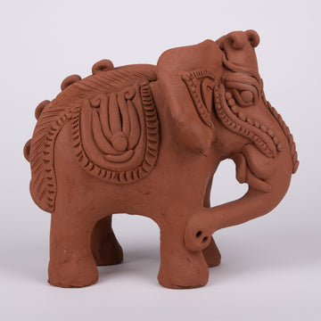 Terracotta Elephant Sculpture & Surprise Investment!