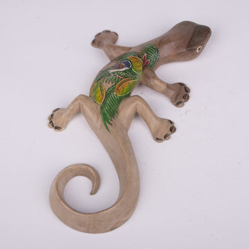 Tropical Painted Wooden Geckos