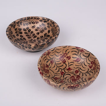Batik Wooden Bowls - Small