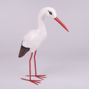 Hand Carved Shore Birds - Ibis