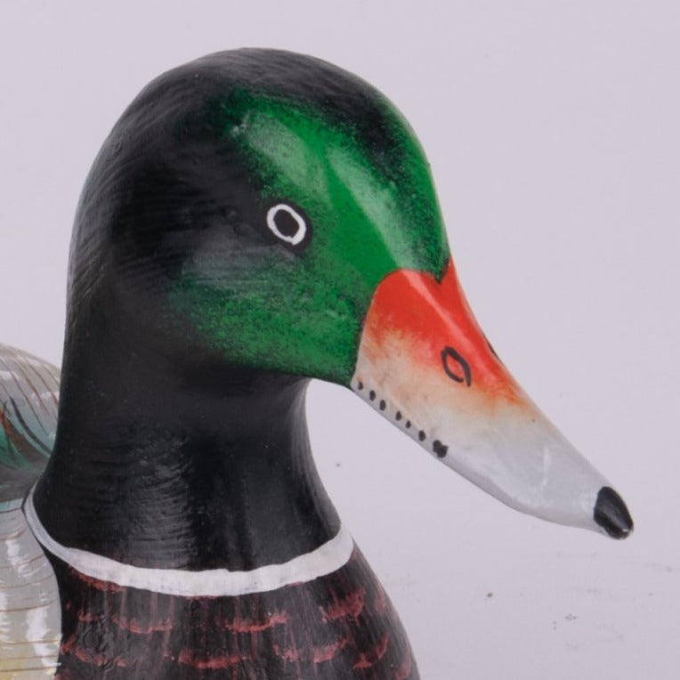 Hand Carved Birds - Mallard Duck
