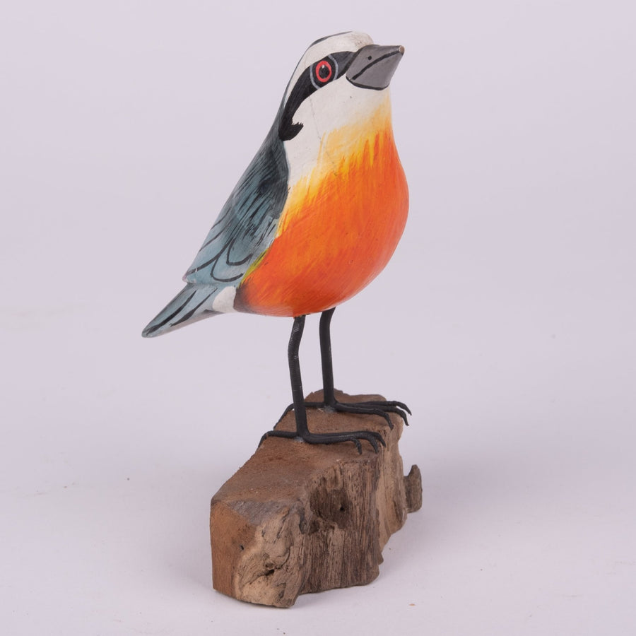 Hand Carved Birds - Nuthatch