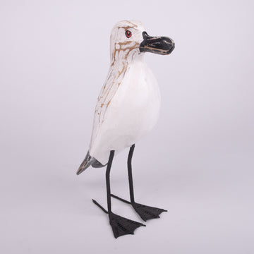 Hand Carved Birds - Rough Seagull