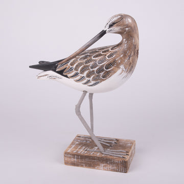 Hand Carved Shore Birds - Curlew Sandpiper