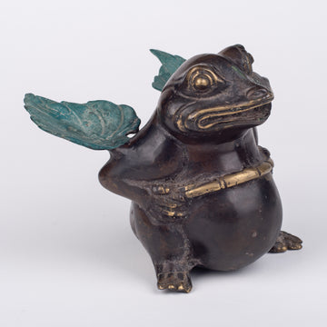 Bronze Froggy with Wings to Fly