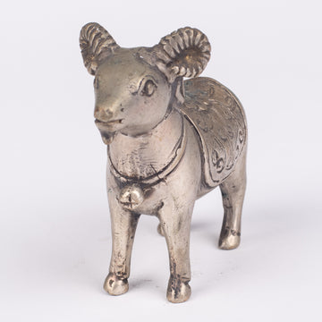 Bronze Ram Sculpture