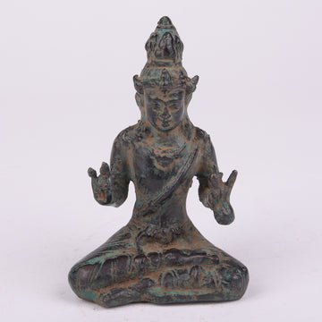 Seated Buddha in Lotus Position