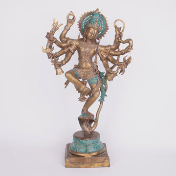 Lord Vishnu Bronze Statue - God of Protection & Preservation