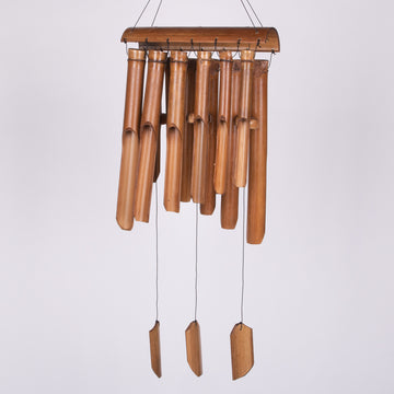 Double Luck Bamboo Balinese Bamboo Wind Chimes