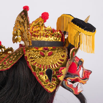 Balinese Barong in miniature