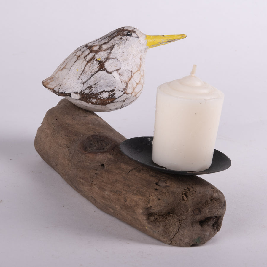 Baby Seagull Candle Holder
