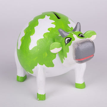 Piggy Bank - Painted Cow