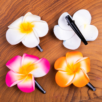 Flower Clips for Your Hair