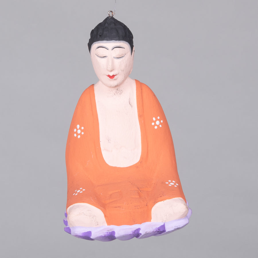 Painted Buddha Ornament