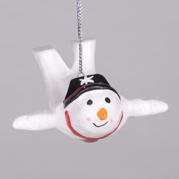 Ornaments - Flying Snowman