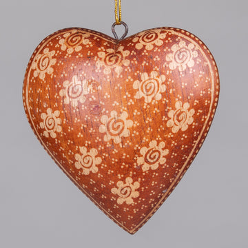 Ornaments - Big Batik Hearts