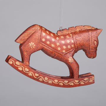 Ornaments - Batik Rocking Horse