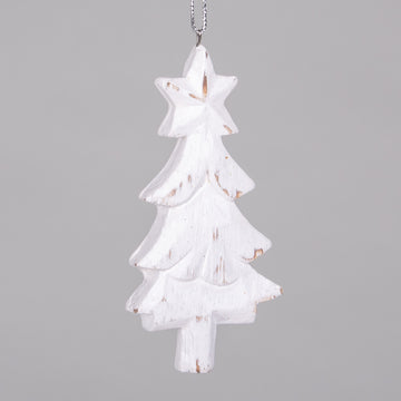 Ornaments - White Christmas Trees