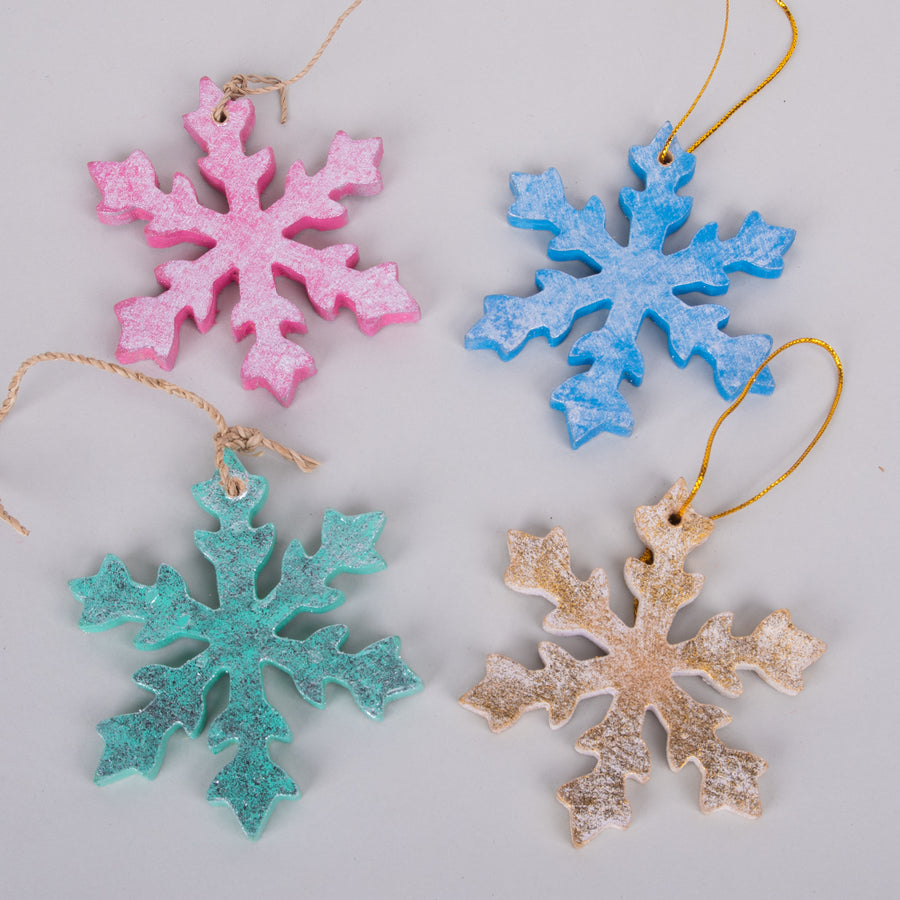Ornaments - Cut Snowflakes