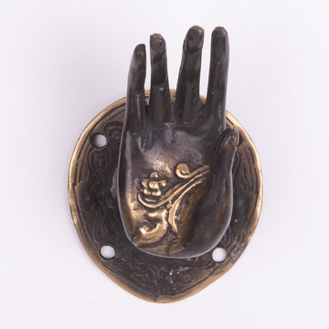 Bronze Hand for the Wall