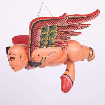 Flying Balinese Baby with Amulet & Endowment