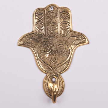 Coat Hook Hamsa & Hand of Fatima