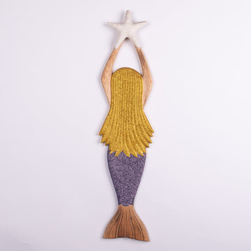 Mermaid & Star Carving for Your Child's Dreams