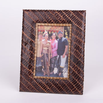 Pressed Pod Photo Frame