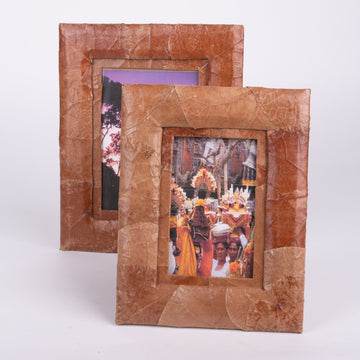 Pressed Leaf Photo Frame