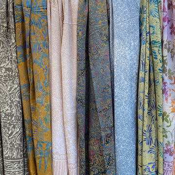 Delicious Rayon Sarongs - Cafe au Lait Group