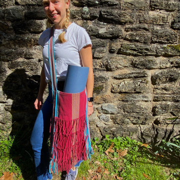 Crazy Sumba Weave Hippie Bag