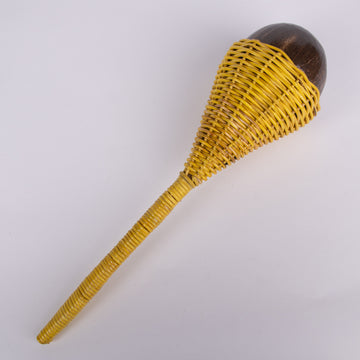 Maracas - Coconut & Yellow Wicker
