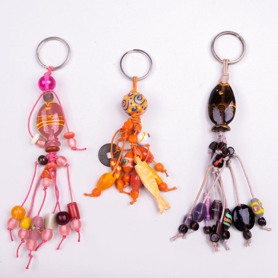 Glass Fish Keychains