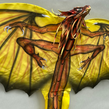 Yellow New Dragon Kite