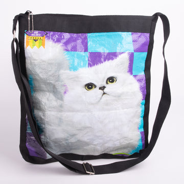 Recycled Indonesian Pet Food Purses!