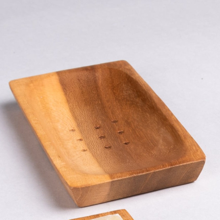 Soap Dishes of Wood