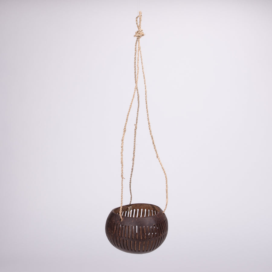 Hanging Cut Coconut Shells for All Sorts of Things