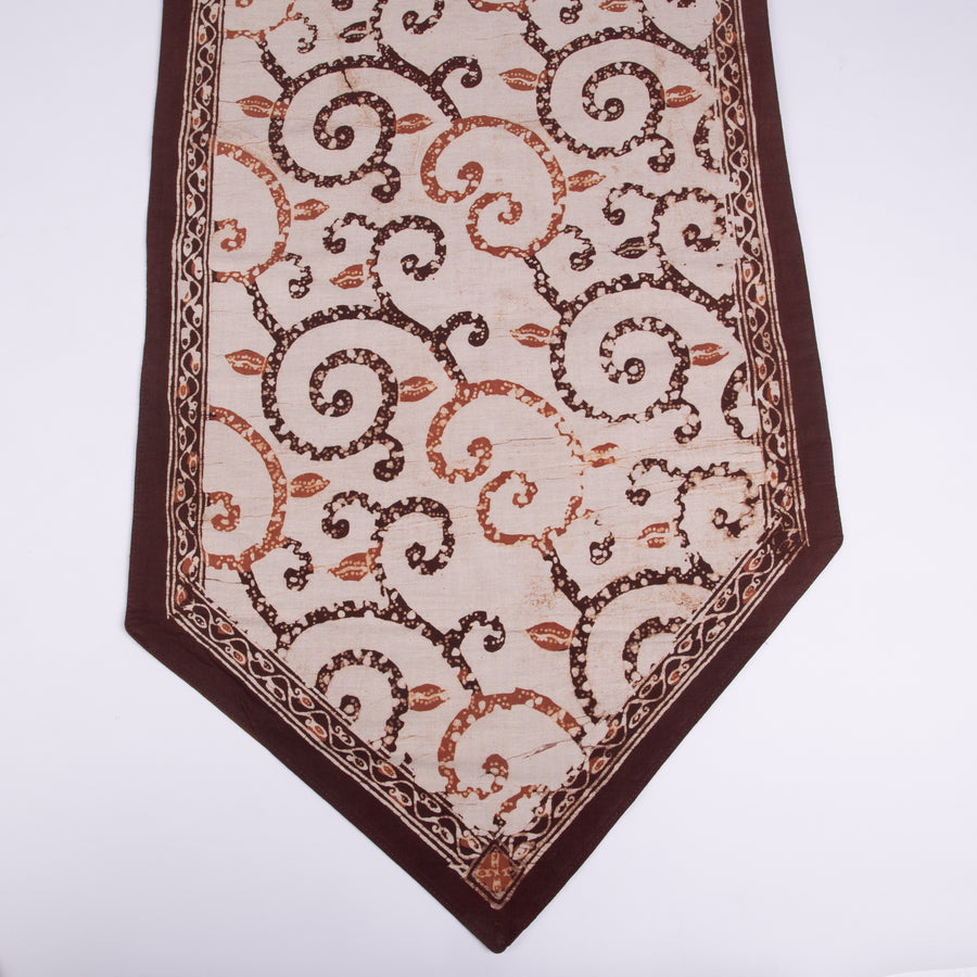 Natural Batik Table Runner