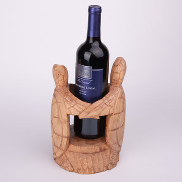Two Turtles Wine Holder