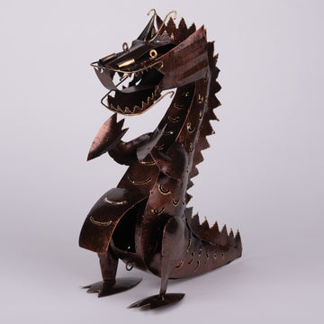 Dragon Hear Me Roar Copper Sculpture
