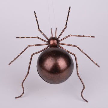 Metal Wall Spider Sculptures