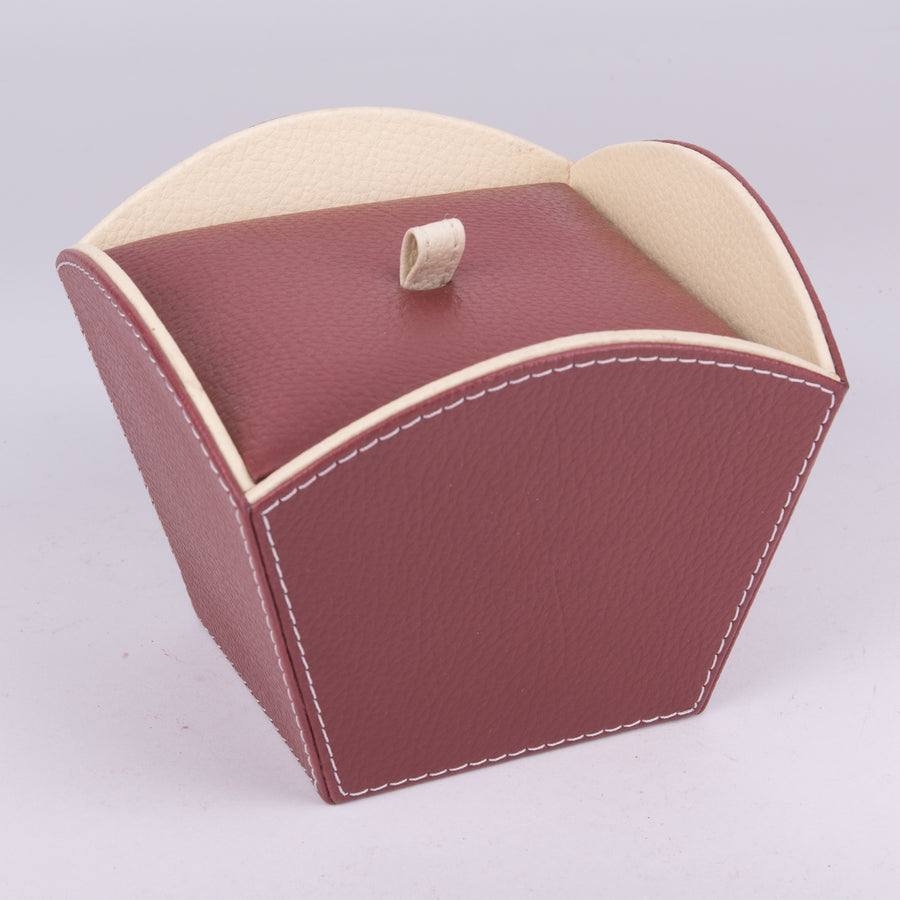 Modern Leather Box & Lid
